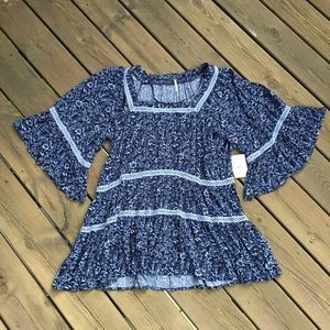 NWT! Free People Talk About It Tunic